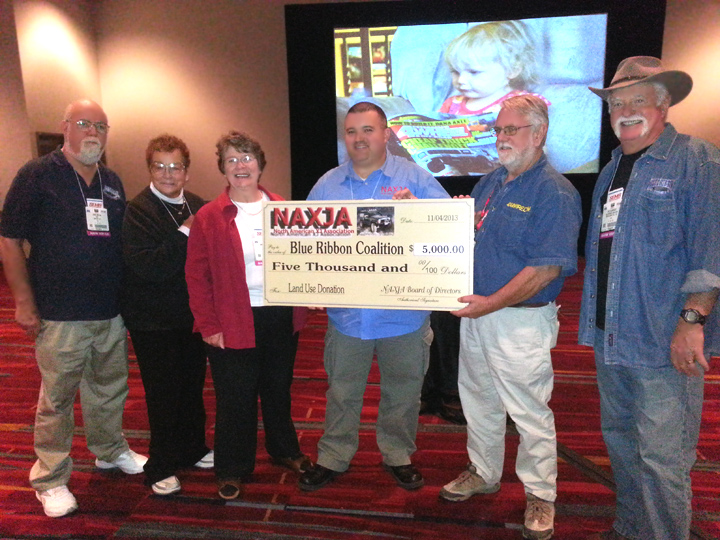 NAXJA Donates $5000 To BRC For Land Use Battles