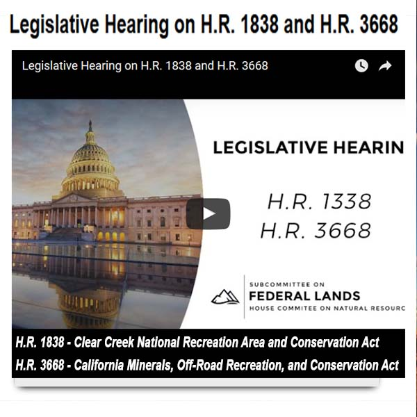 Legislative Hearing on H.R. 1838 and H.R. 3668