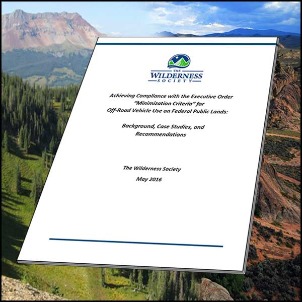 BRC Responds to The Wilderness Society Report