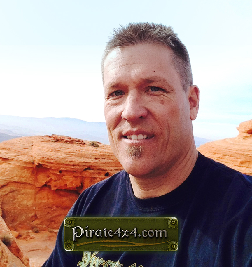Lance Clifford, founder of Pirate4x4.com.