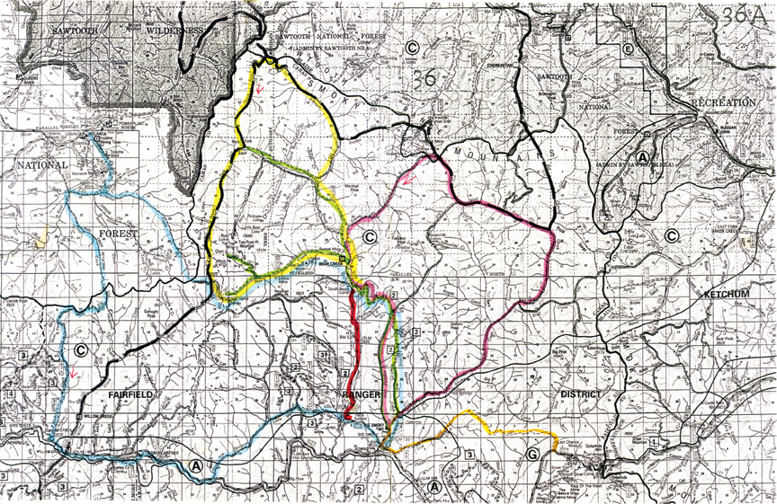Sawtooth National Forest Trail Map | BlueRibbon Coalition on minnesota chippewa national forest map, salmon-challis national forest map, city of rocks national reserve map, denali national park and preserve map, caribou national forest map, deerlodge national forest map, gallatin petrified forest map, idaho map, lewis and clark national forest map, mt. baker national forest map, bering land bridge national preserve map, butte valley national grassland map, gallatin national forest map, cache national forest map, custer national forest map, sawtooth range idaho, sawtooth wilderness, green mountain national forest map, cda national forest map, magic valley mall map,
