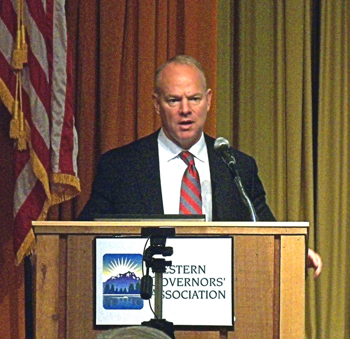 Wyoming Governor Matt Mead