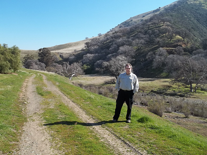 BRC's, Don Amador, on 2013 Tour of Tesla Property.